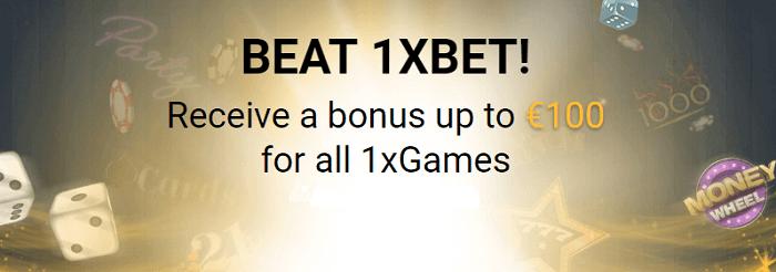 Welcome bonus 1xbetCasino